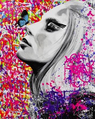 Lady Gaga - Singulart.com ©  Vincent Bardou