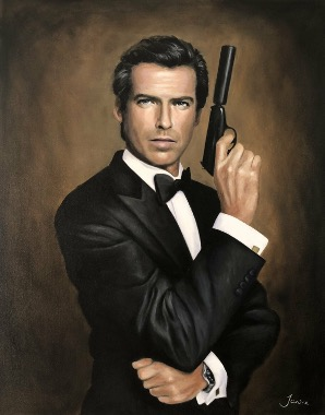 James Bond - Pierce Brosnan - Singulart.com ©  Janine van der Kaaij-Kruijmer