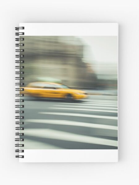 Another yellow cab. Als Spiralringbuch.
